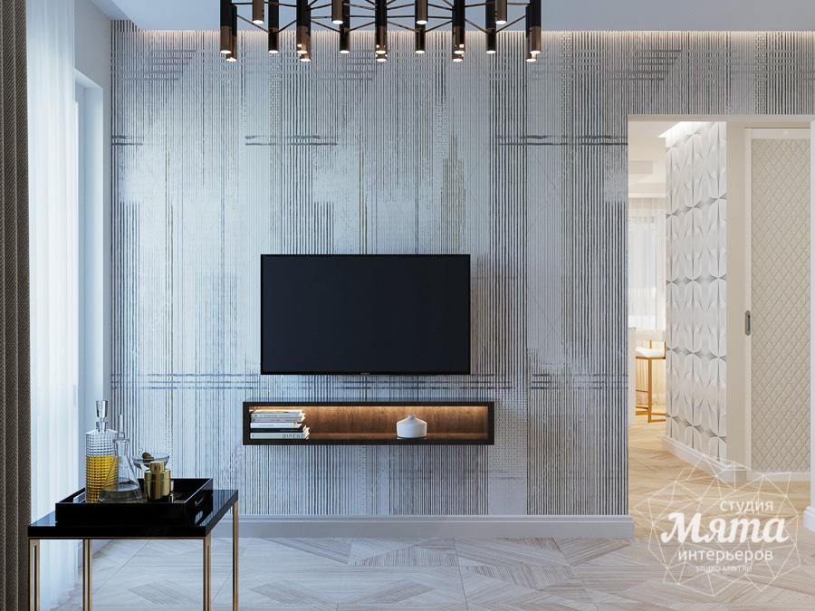 Дизайн интерьера трехкомнатной квартиры в современном стиле, ул. Репина 17а img2048794434