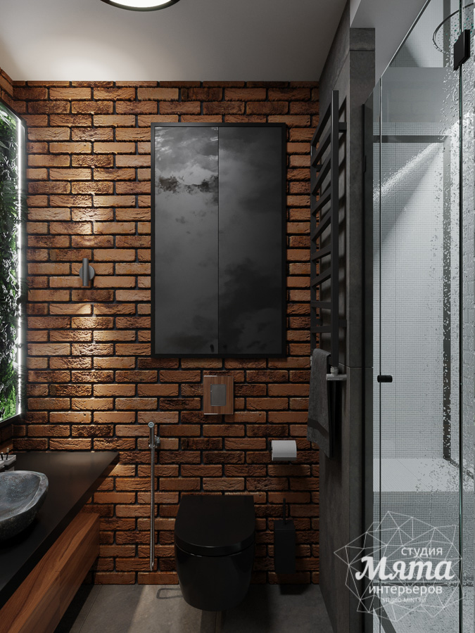 Дизайн интерьера квартиры в стиле лофт ЖК Солнечный Остров img842392549