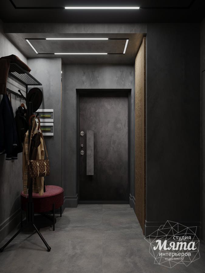 Дизайн интерьера квартиры в стиле лофт ЖК Солнечный Остров img1900719084