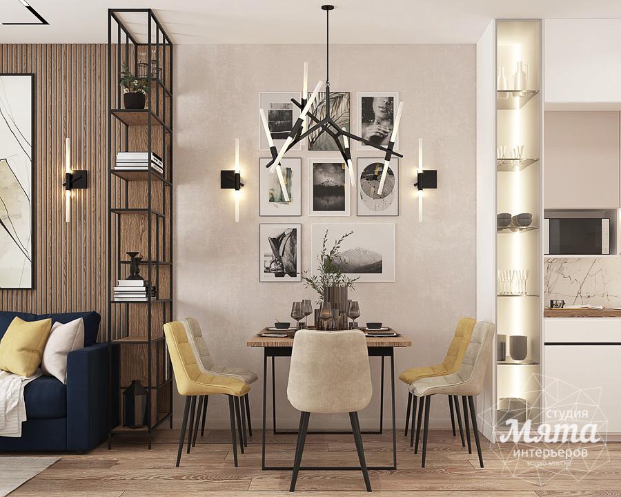 Дизайн интерьера трехкомнатной квартиры ЖК Клевер Парк img317324416