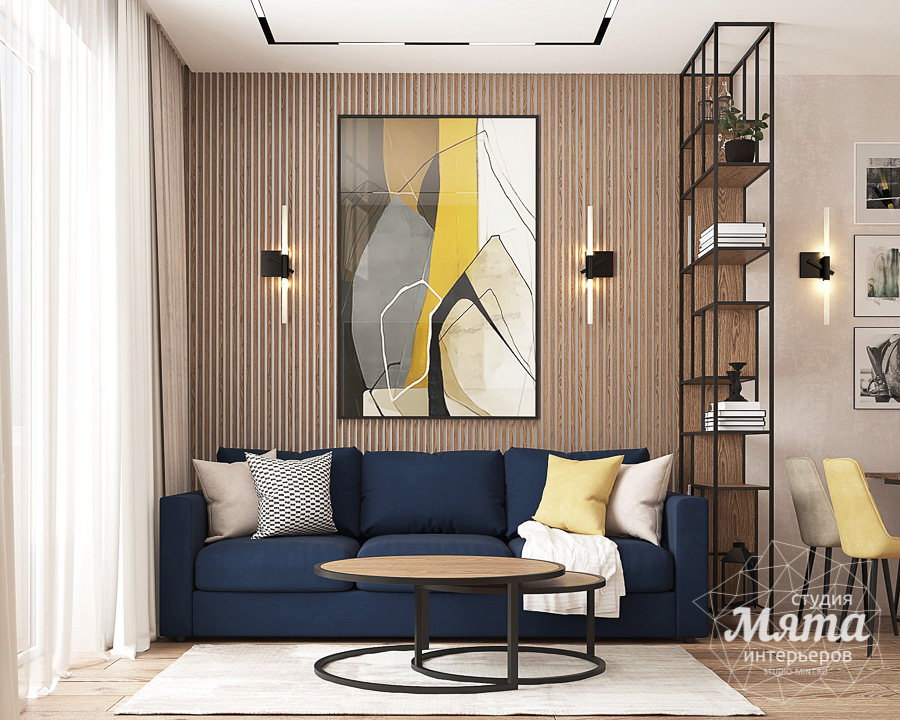 Дизайн интерьера трехкомнатной квартиры в ЖК Клевер Парк img468983126