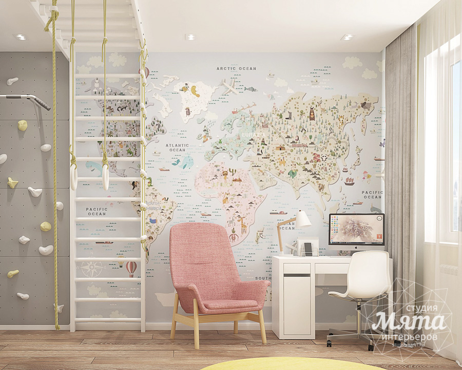 Дизайн интерьера трехкомнатной квартиры в ЖК Клевер Парк img687148834