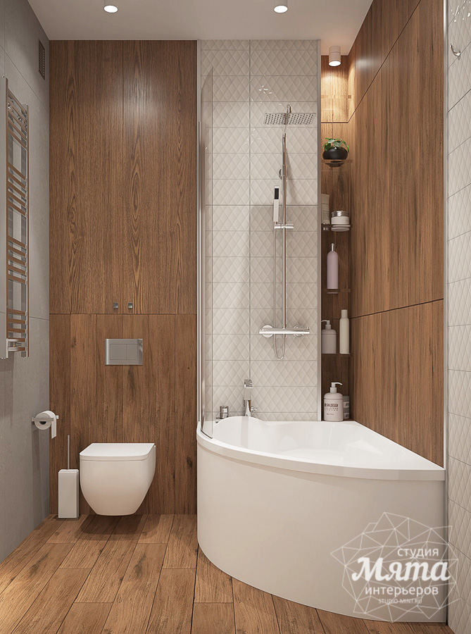 Дизайн интерьера трехкомнатной квартиры в ЖК Клевер Парк img1868505374