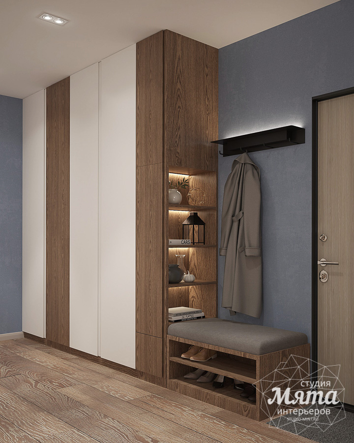 Дизайн интерьера трехкомнатной квартиры в ЖК Клевер Парк img514158027