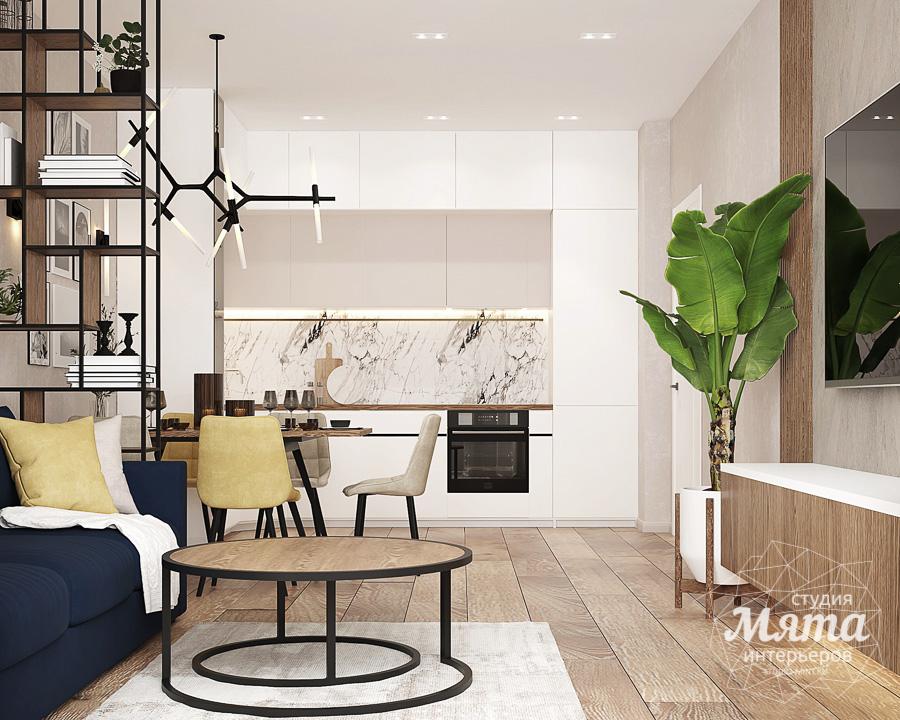 Дизайн интерьера трехкомнатной квартиры в ЖК Клевер Парк img339404178