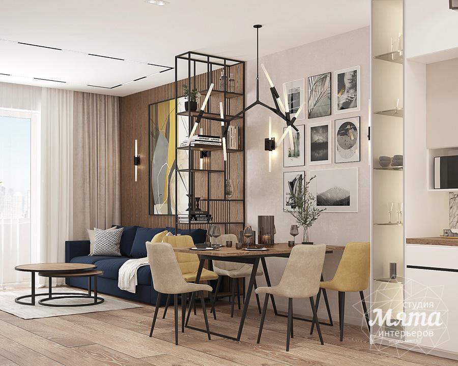 Дизайн интерьера трехкомнатной квартиры в ЖК Клевер Парк img1216070240