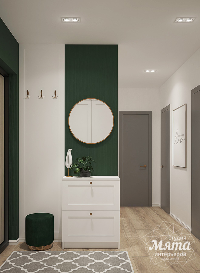 Дизайн интерьера однокомнатной квартиры ЖК Цветной Бульвар img2106898242