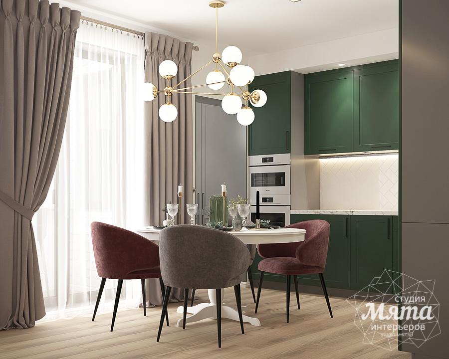 Дизайн интерьера однокомнатной квартиры ЖК Цветной Бульвар img590184603