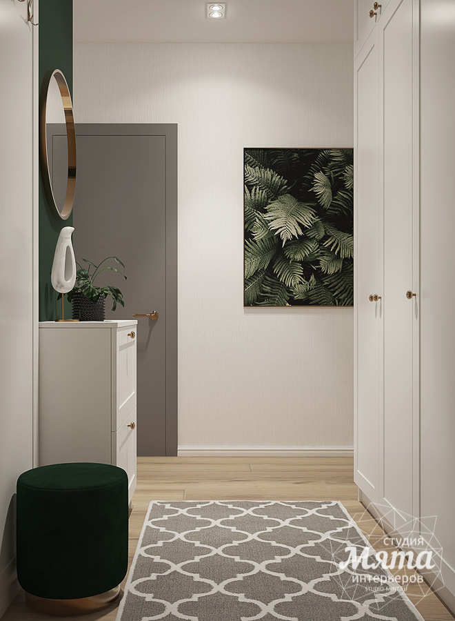 Дизайн интерьера однокомнатной квартиры ЖК Цветной Бульвар img1420103096