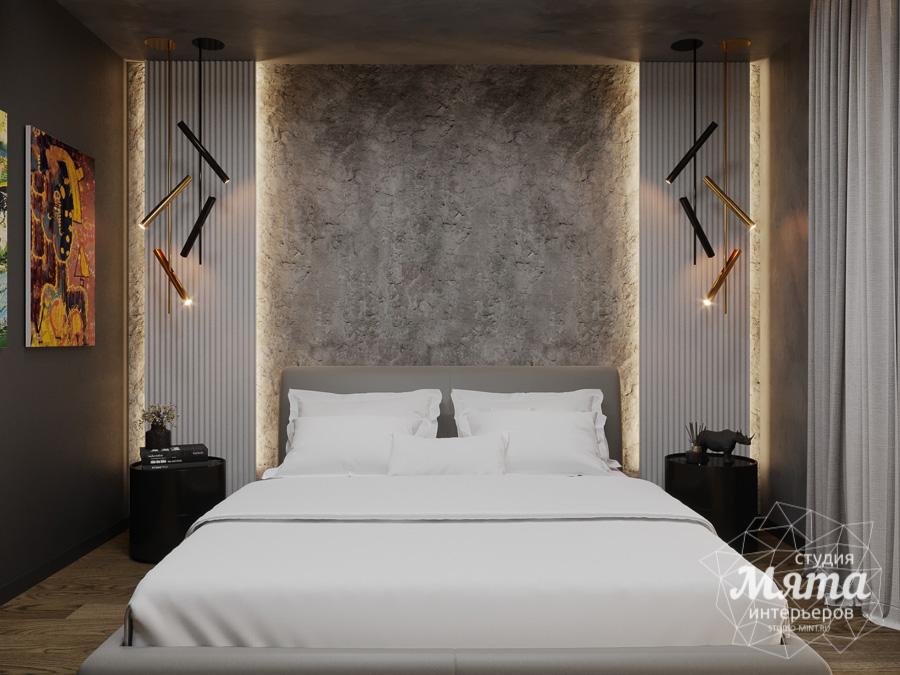 Дизайн интерьера квартиры в стиле лофт ЖК Солнечный Остров img549928172