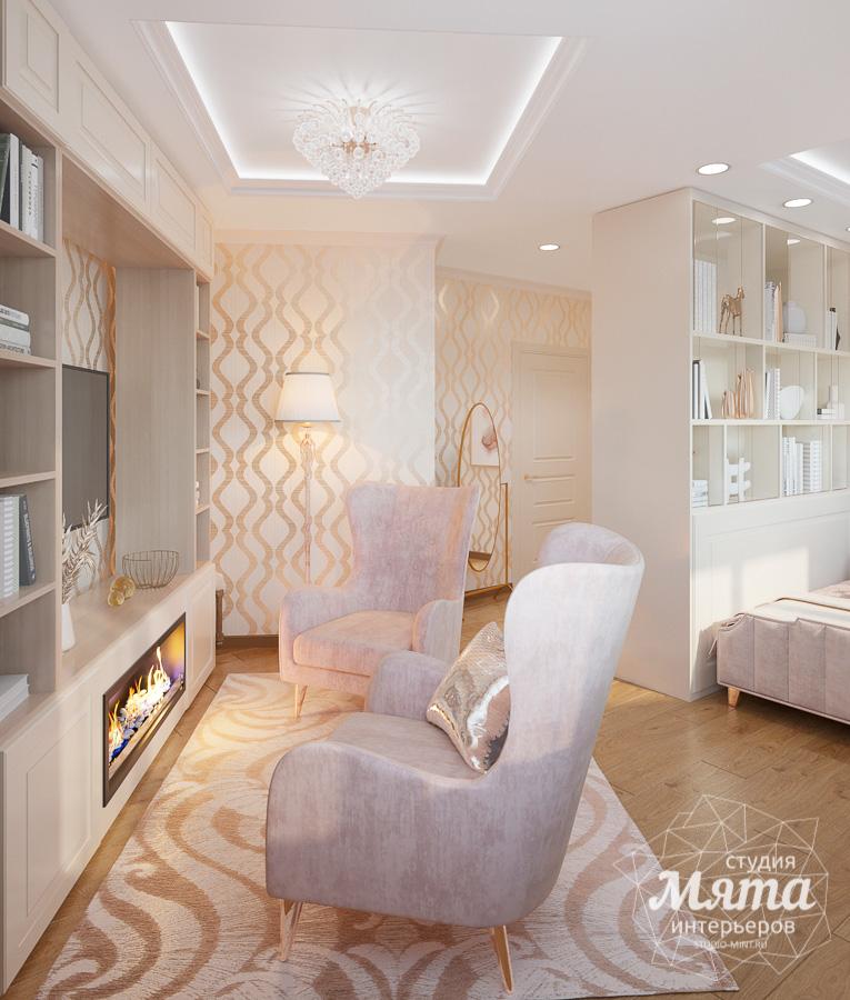 Дизайн интерьера однокомнатной квартиры ЖК Рощинский img2059836645