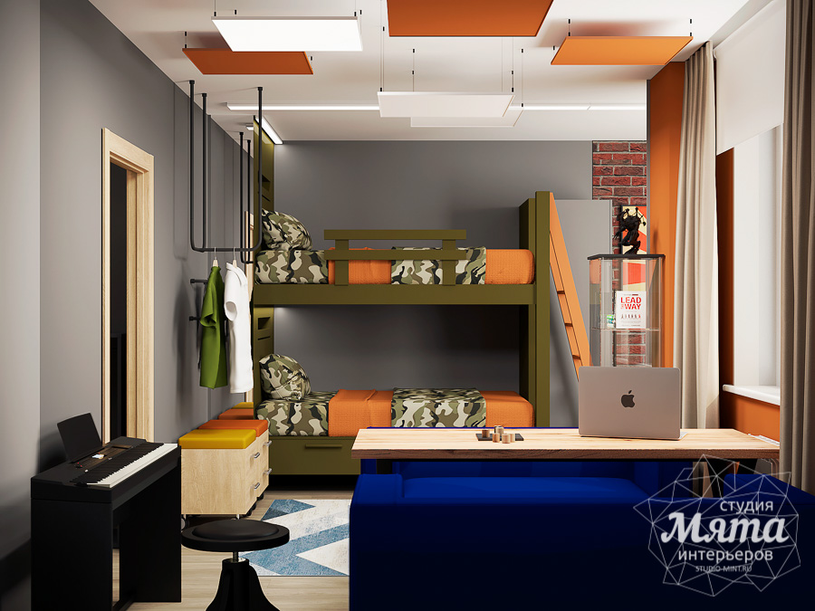Дизайн интерьера однокомнатной квартиры ЖК Вернисаж img296073860