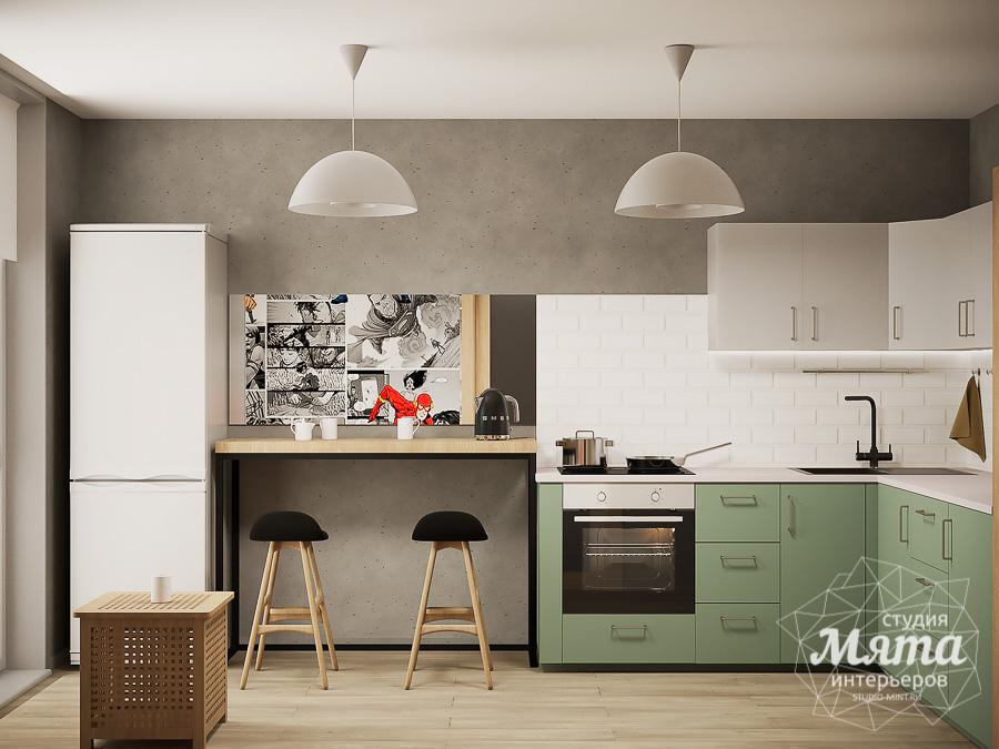 Дизайн интерьера однокомнатной квартиры ЖК Вернисаж img652855068
