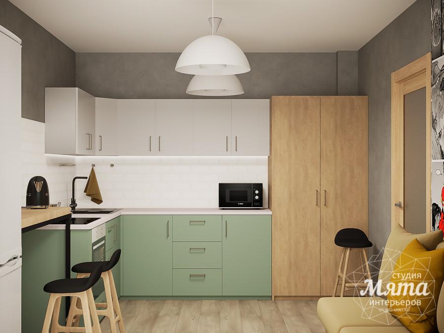 Дизайн интерьера однокомнатной квартиры ЖК Вернисаж img1688110733