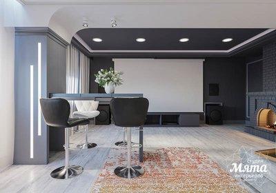Дизайн интерьера домашнего кинотеатра в коттедже п. Кашино img30752675