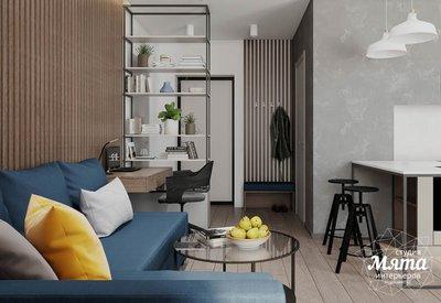 Дизайн интерьера квартиры - студии в ЖК Стрелки img1480148031