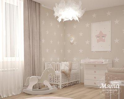 Дизайн интерьера трехкомнатной квартиры ЖК Близкий img1081737445