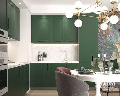 Дизайн интерьера однокомнатной квартиры ЖК Цветной Бульвар img1286623848