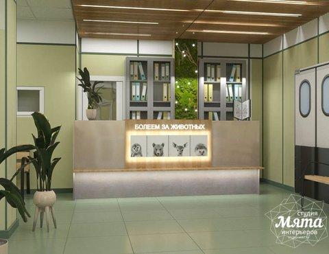 Дизайн интерьера ветеринарной станции г. Екатеринбурга