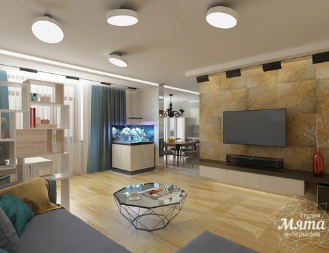 Дизайн интерьера и ремонт четырехкомнатной квартиры по ул. Союзная 2