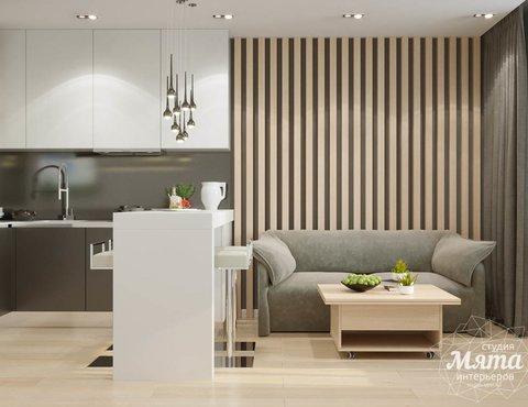 Дизайн интерьера однокомнатной квартиры по ул. Ак. Семихатова 18