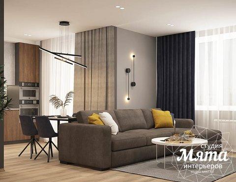 Дизайн интерьера трехкомнатной квартиры, ул.Сахарова