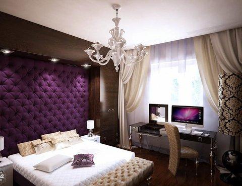 Комната для девушки в современном стиле