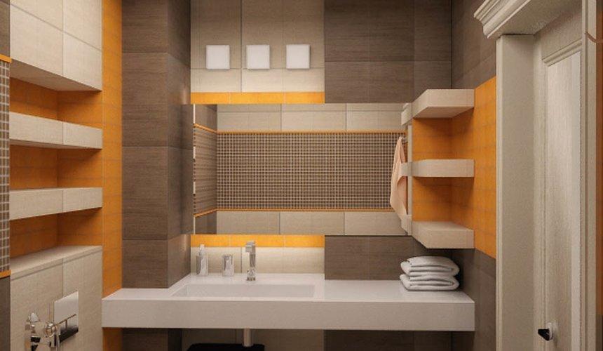 Дизайн интерьера однокомнатной квартиры по ул. Сыромолотова 11 12