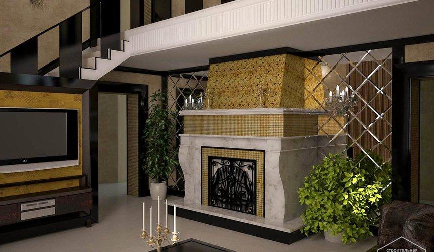 Дизайн интерьера коттеджа в п. Н. Рассоха 4