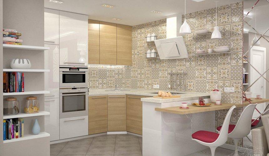 Дизайн интерьера и ремонт трехкомнатной квартиры по ул. Фучика 9 74