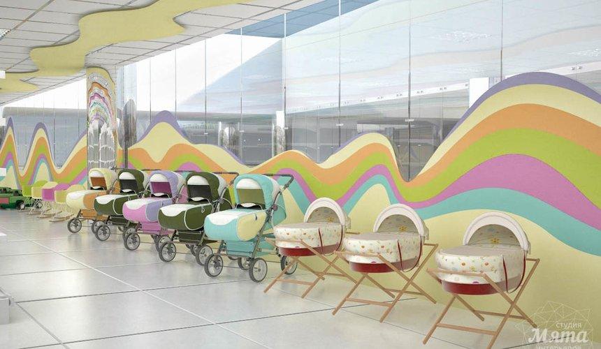 Дизайн интерьера и ремонт детского гипермаркета по ул. Щербакова 4 19