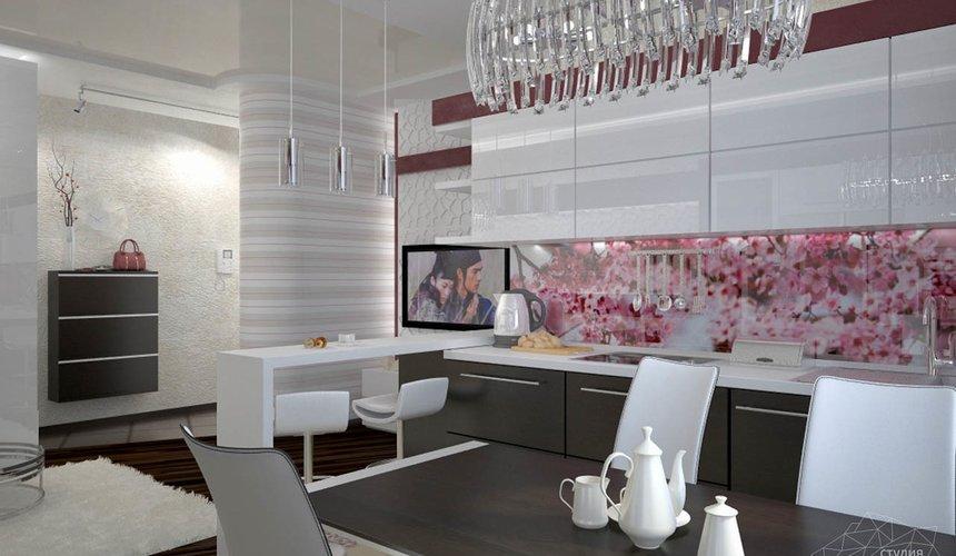 Дизайн интерьера и ремонт трехкомнатной квартиры по ул. Попова 33а 49