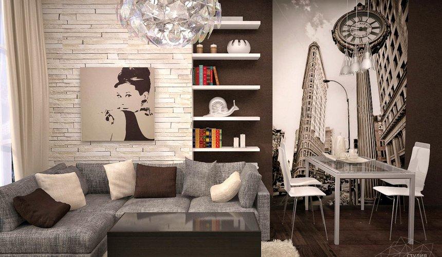 Дизайн интерьера трехкомнатной квартиры по ул. Папанина 18 5