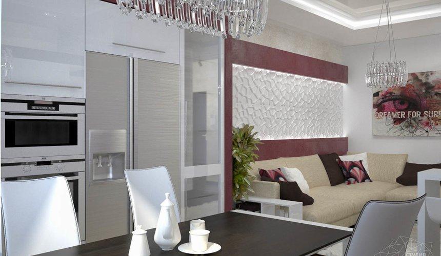 Дизайн интерьера и ремонт трехкомнатной квартиры по ул. Попова 33а 50