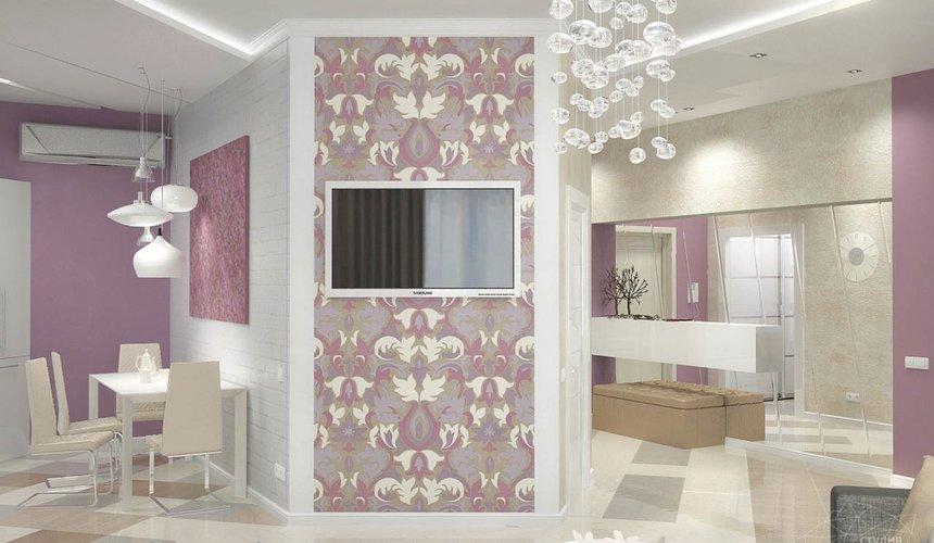 Дизайн интерьера и ремонт трехкомнатной квартиры по ул. Чкалова 124 53