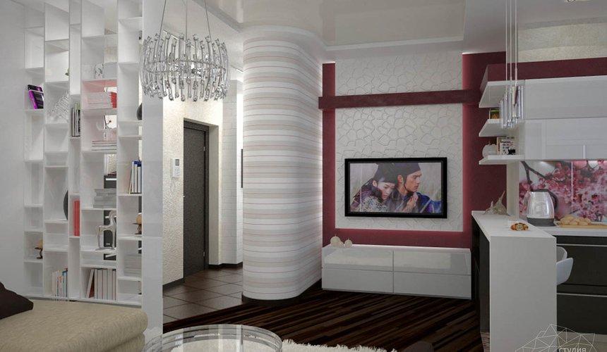 Дизайн интерьера и ремонт трехкомнатной квартиры по ул. Попова 33а 45