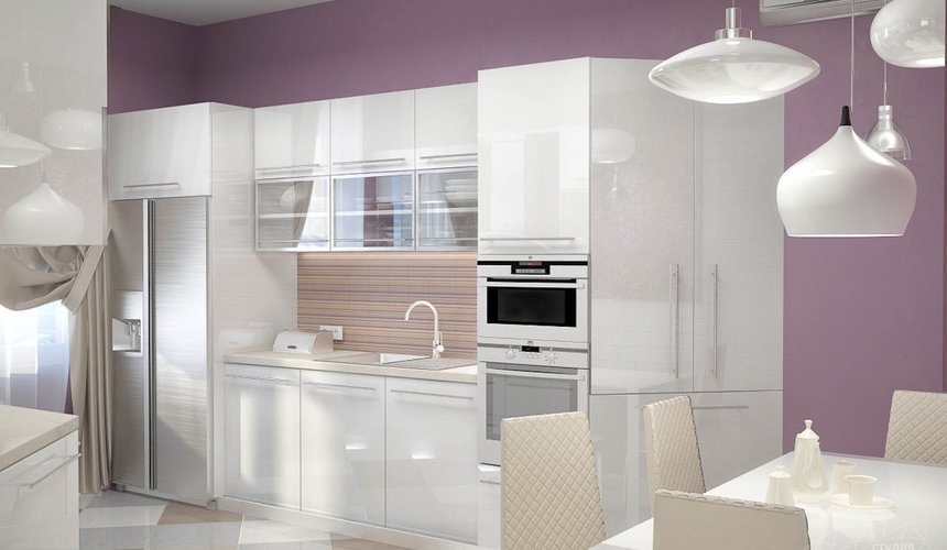 Дизайн интерьера и ремонт трехкомнатной квартиры по ул. Чкалова 124 56