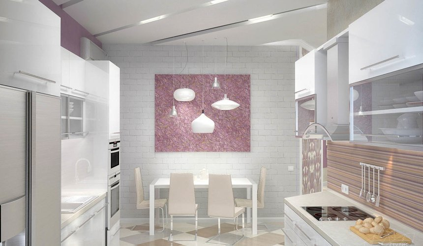 Дизайн интерьера и ремонт трехкомнатной квартиры по ул. Чкалова 124 57