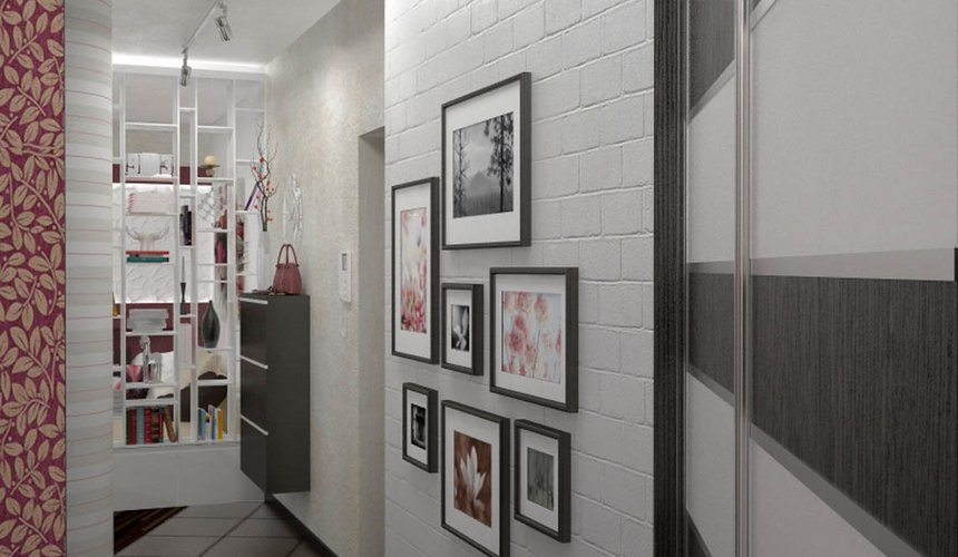 Дизайн интерьера и ремонт трехкомнатной квартиры по ул. Попова 33а 54