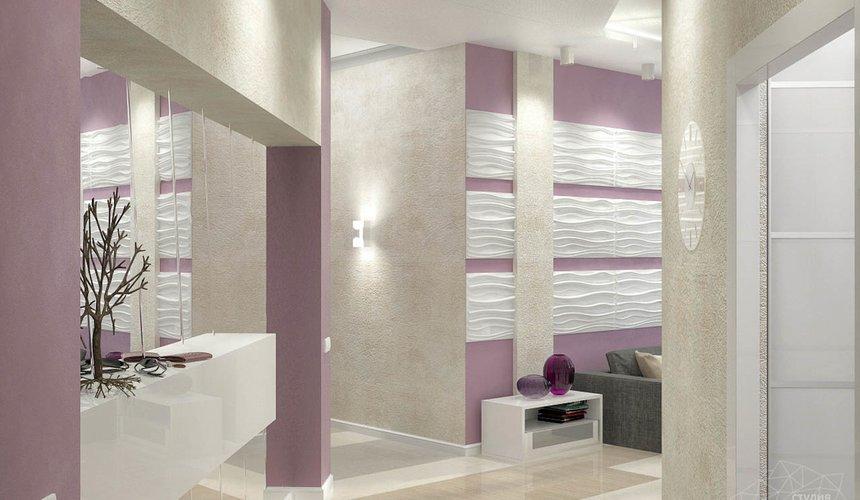 Дизайн интерьера и ремонт трехкомнатной квартиры по ул. Чкалова 124 61