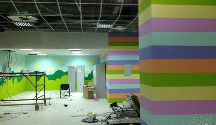 Дизайн интерьера и ремонт детского гипермаркета по ул. Щербакова 4 4