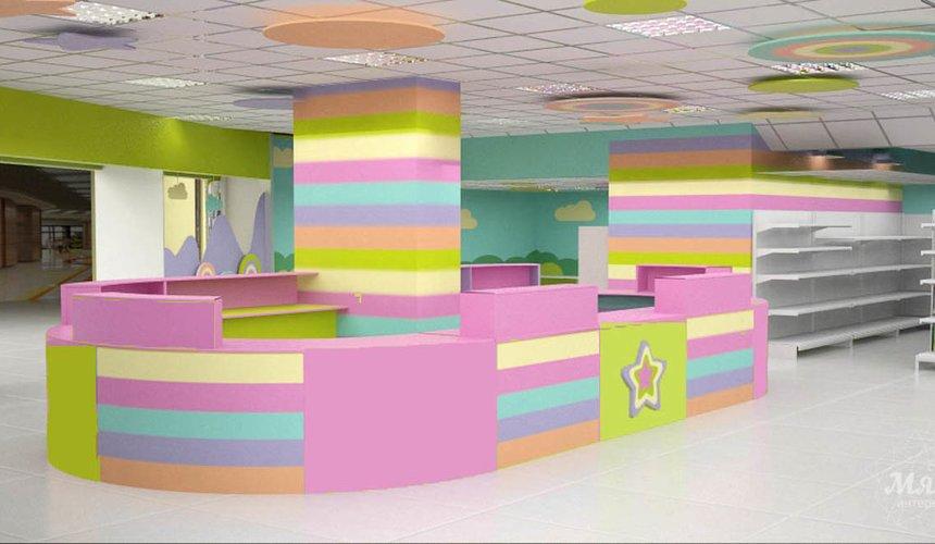 Дизайн интерьера и ремонт детского гипермаркета по ул. Щербакова 4 27
