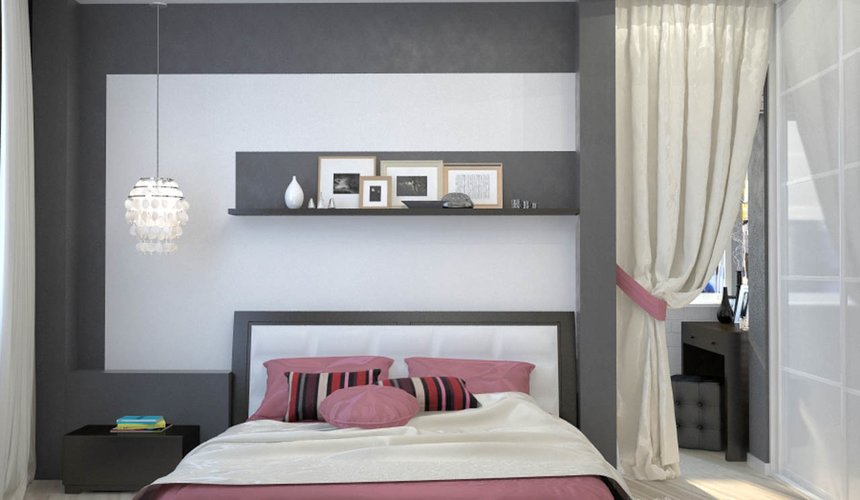 Дизайн интерьера и ремонт трехкомнатной квартиры по ул. Попова 33а 62