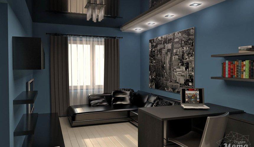 Дизайн интерьера и ремонт однокомнатной квартиры по ул. Комсомольская 45 37
