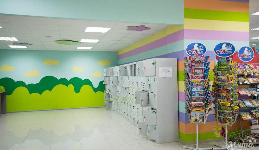 Дизайн интерьера и ремонт детского гипермаркета по ул. Щербакова 4 11