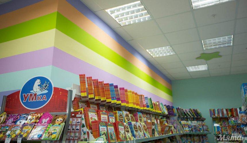 Дизайн интерьера и ремонт детского гипермаркета по ул. Щербакова 4 12