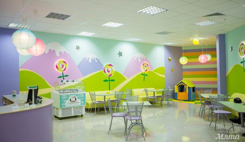 Дизайн интерьера и ремонт детского гипермаркета по ул. Щербакова 4 17