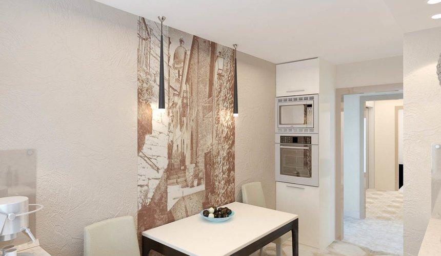 Дизайн интерьера и ремонт однокомнатной квартиры по ул. Бажова 134 27