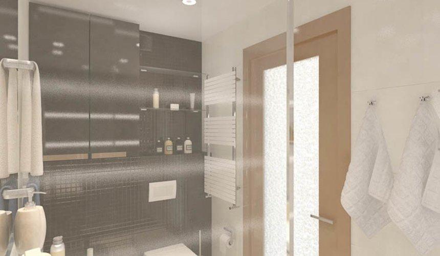 Дизайн интерьера и ремонт однокомнатной квартиры по ул. Бажова 134 31
