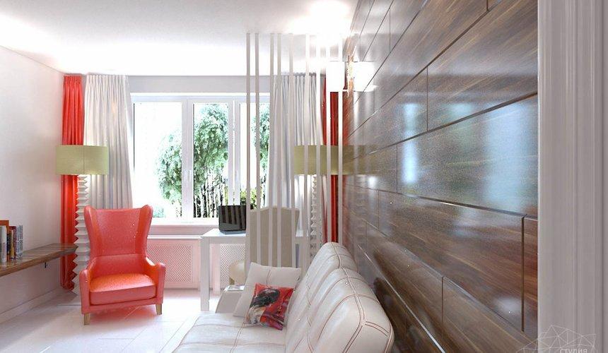 Дизайн интерьера однокомнатной квартиры в стиле минимализм по ул. Чапаева 30 4